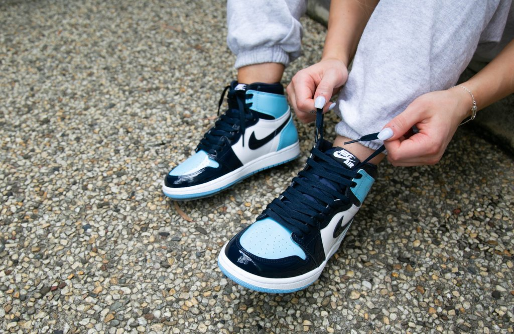 air jordan 1 blue chill