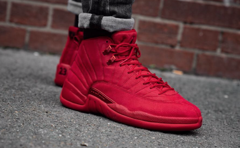 air jordan 12 gym red