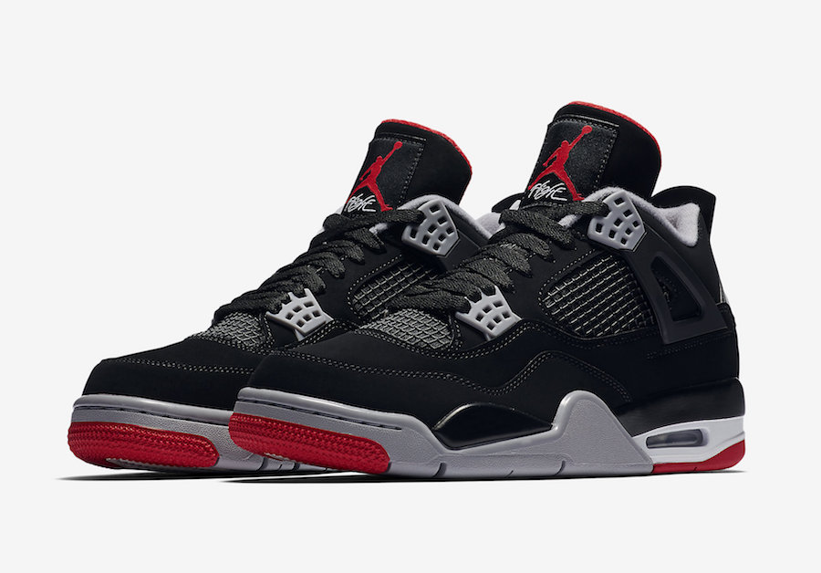 air jordan 4 retro bred