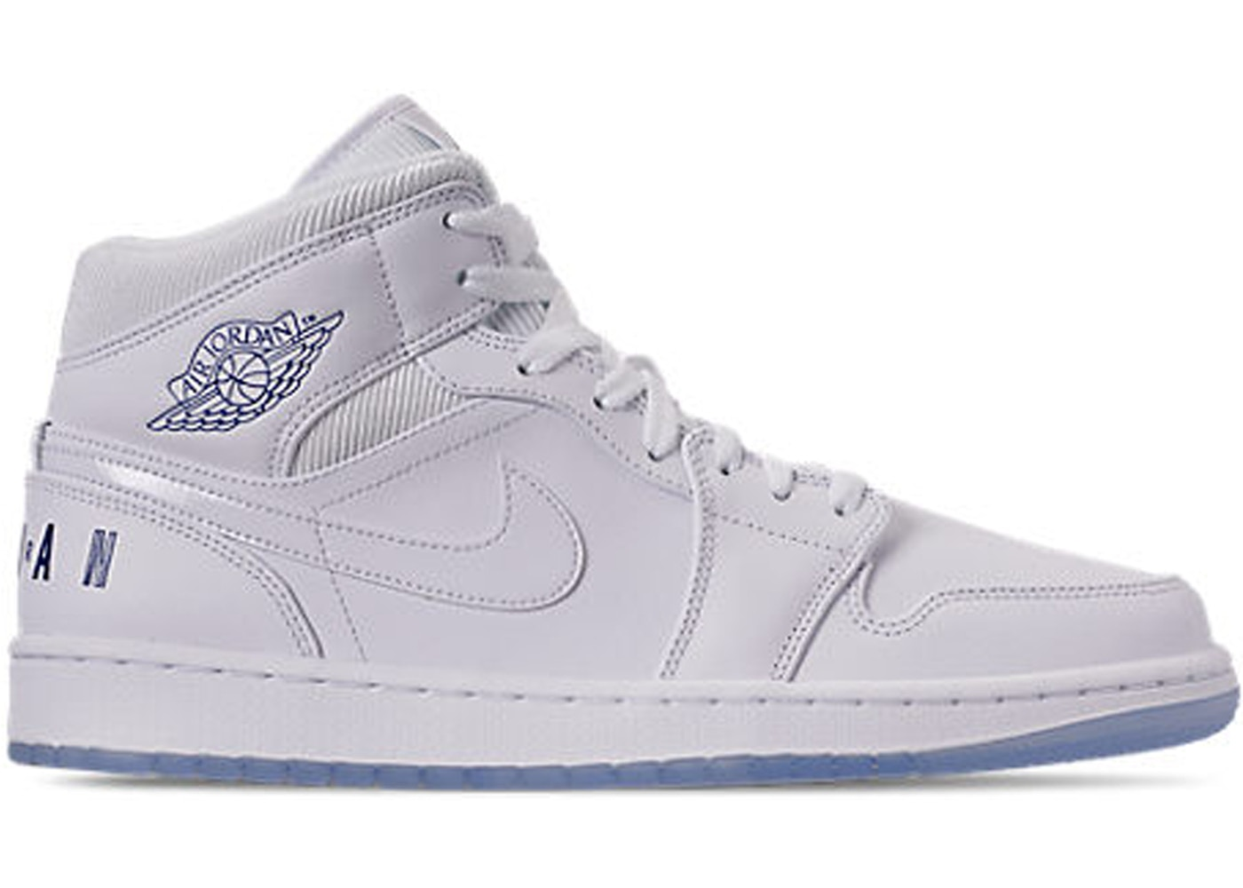 air jordan all white 1