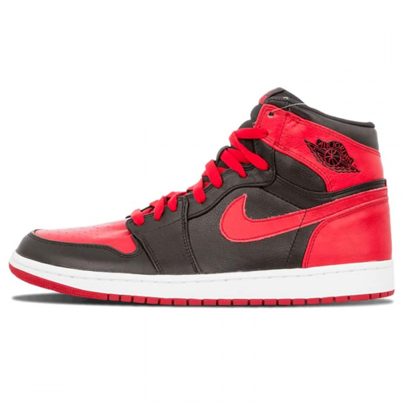 air jordan black and red 1