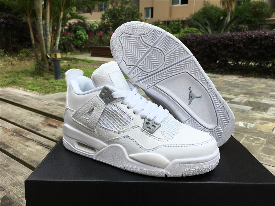low cost fast delivery 100% quality air jordans 4 pure money
