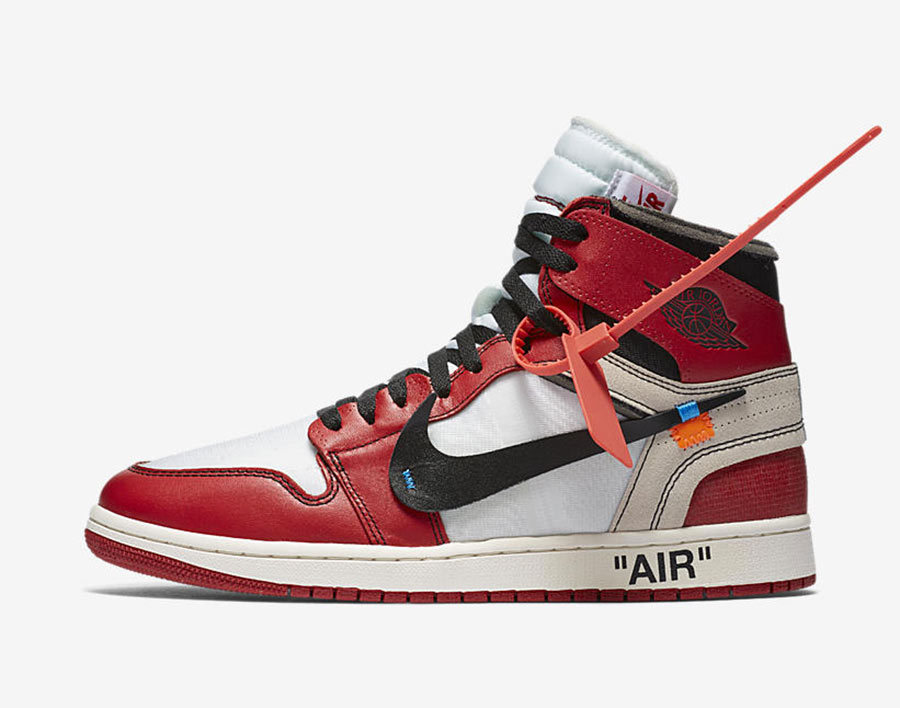 off white x air jordan 1